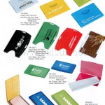 Promotional Name Card Holder & Glasses Clean Cloth Box