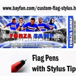 Custom Flag Stylus