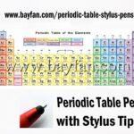 Periodic Table Stylus Pens