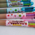 Sweet Fruits Scent  6 Color pens